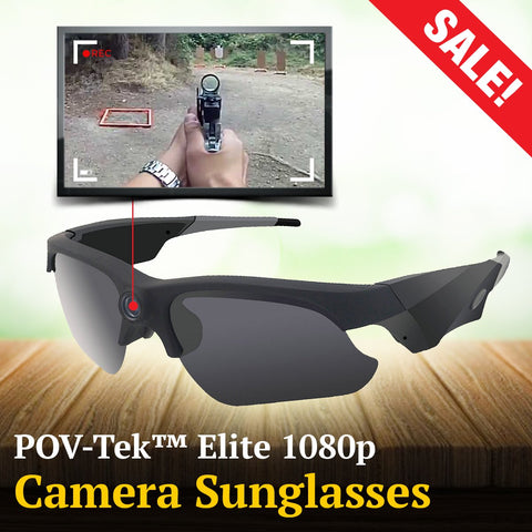 POV-Tek™ Elite 1080p Camera Sunglasses
