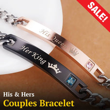 His & Hers Couples Bracelet (buy 1 get 1 free)