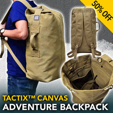 Tactix™ Canvas Adventure Backpack
