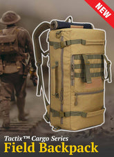 Tactix™ {Cargo Series} Waterproof Field Backpack