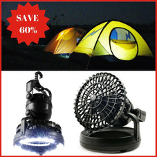Campout™ 18 LED Lantern & Fan
