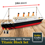 Titanic Building Block Kit 1021 PCs