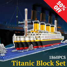 1860pc Titanic Building Block Set