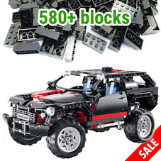 589pc Transport Cruiser Building Block Set
