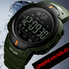 The Unbreakable Military Smartwatch with Bluetooth