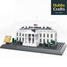 771 PC White House Building Block Set