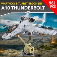 A10 'Warthog' Thunderbolt Jet Block Set - 961pcs
