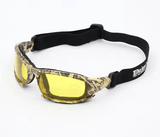 Camouflaged Polarized X7 Tactical Goggles