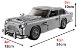 "1964 Aston Martin DB5 ""Secret Agent Edition"" with Ejecting Seat - 1450PCS"