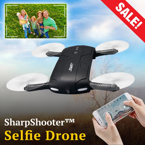 SharpShooter™ Video & Photo Selfie Drone