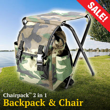 ChairPack™ 2-in-1 Backpack Chair