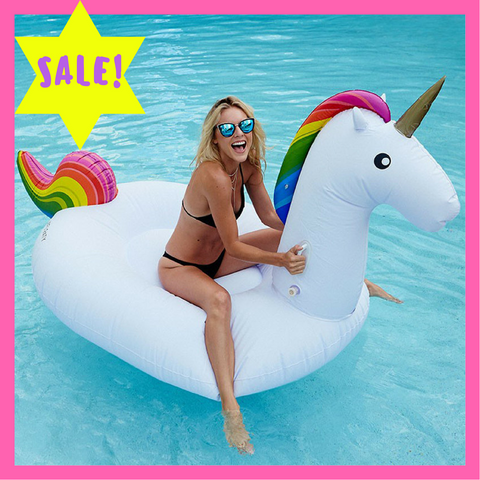 "Giant ""8 Foot"" Unicorn Floatie"