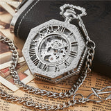 GORBEN™ Classic Pocket Watch with Traditional All-steel Construction