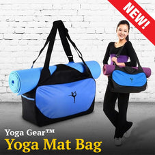 YogaGear™ Yoga Bag with mat holder