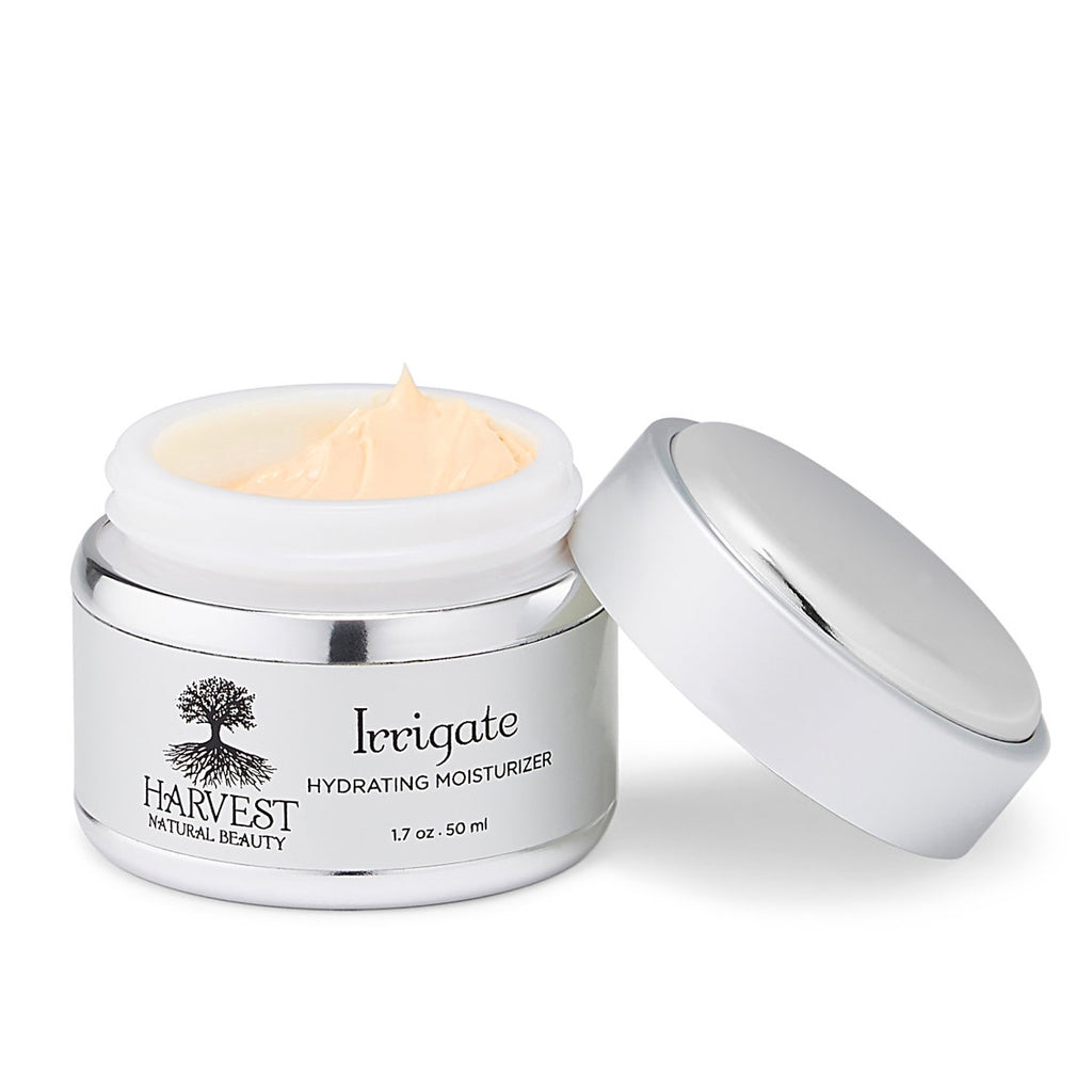 Organic Face Moisturizer Skin Care Harvest Natural Beauty Hydrating Cream Irrigate