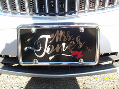 Tim's Artistic Art - Car Tags - Loving Memory Store
