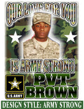 Army Strong - Loving Memory Store