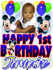 A Mickey First Birthday - Loving Memory Store