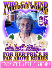 A Virtuous Woman - Loving Memory Store