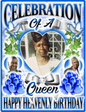 Celebration Of A Queen - Loving Memory Store