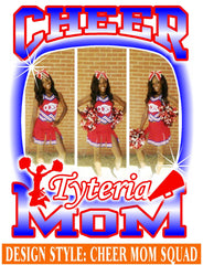 Cheer Mom Squad - Loving Memory Store