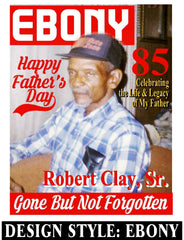 Ebony Cover - Loving Memory Store
