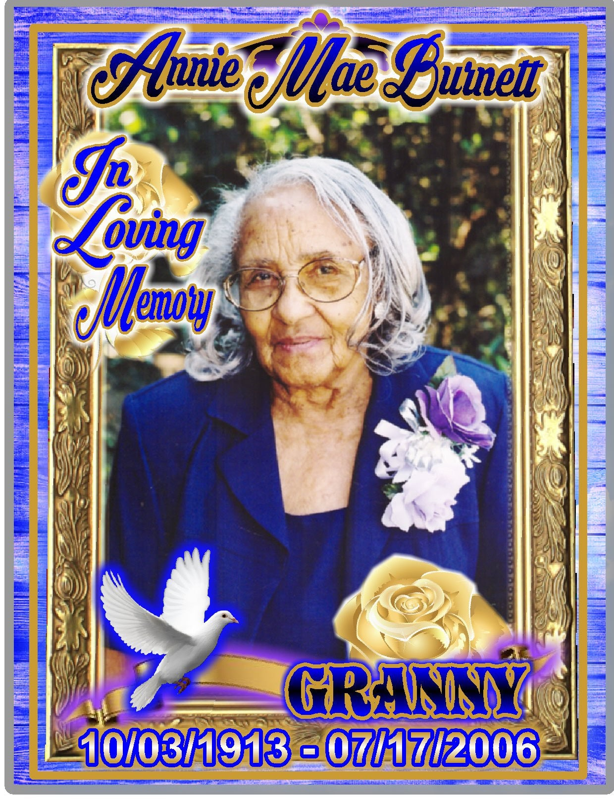 Framed In Glory - Loving Memory Store