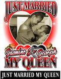Just Married My Queen - Loving Memory Store