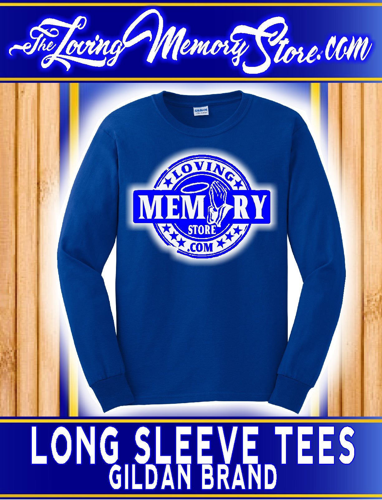 Gildan Long Sleeve Youth - Loving Memory Store