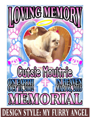 My Furry Angel - Loving Memory Store