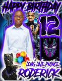Panther Birthday Prince - Loving Memory Store