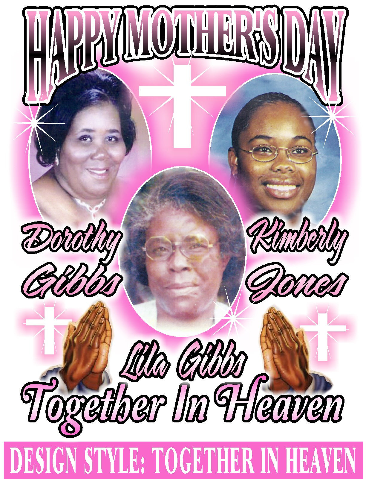 Together In Heaven - Loving Memory Store