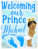 Welcoming A Prince - Loving Memory Store