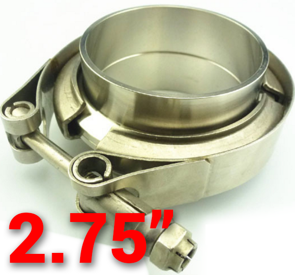 2.75 inch 304 Stainless Steel V-Band Flange with Clamp Kit