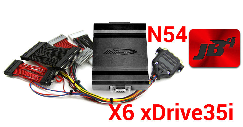 N54 JB4 BMW Performance Tuner (Stage 3, Juice Box 4) Piggyback DME/ECU X6