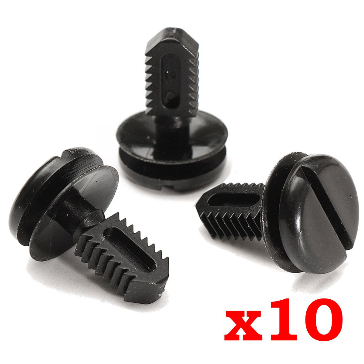 Plastic Trunk Trim Clips x10