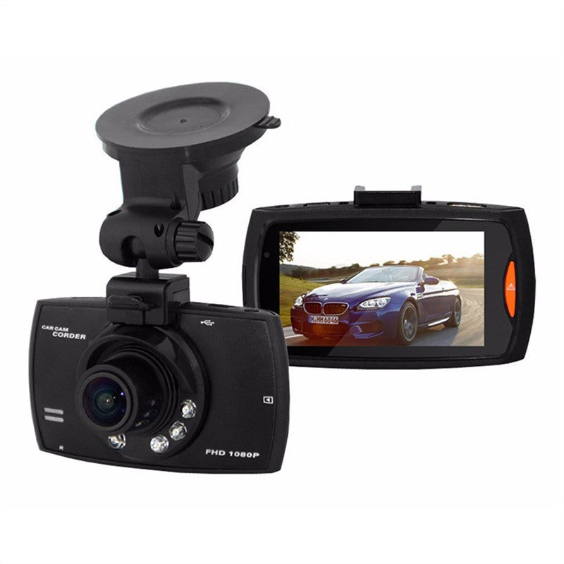 Dash Camera 1080P LCD Car DVR Crash Cam with G-sensor and Night Vision