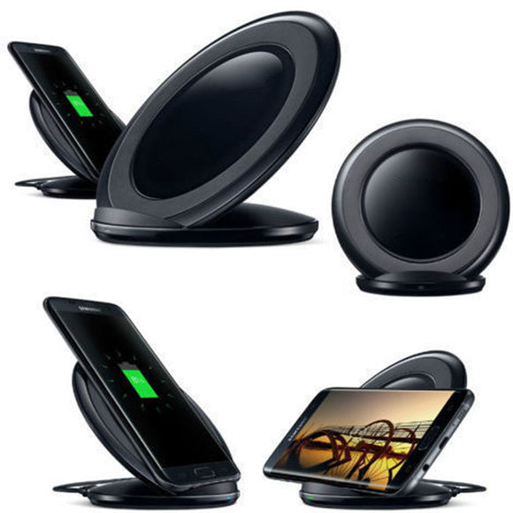 Standing Fast Wireless Charger: All Qi Enabled Phones/Devices 1-3 Day delivery - Empire Accessories Inc