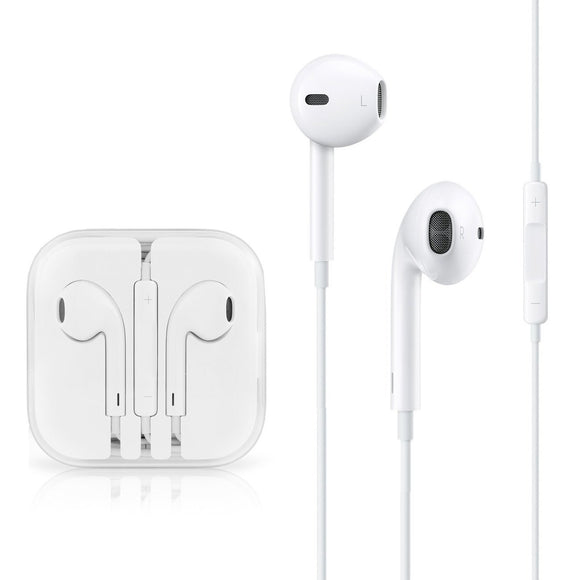 Apple MD827LL/A EarPods with Remote and Mic - Standard Packaging - White - Empire Accessories Inc