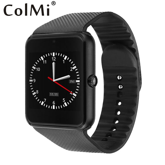 Smart Watch GT08 Clock With Sim Card Slot Push Message Bluetooth for Android - Empire Accessories Inc
