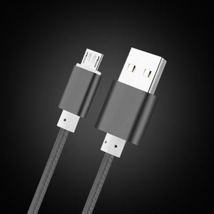 Nylon Micro USB Cable For Samsung s7 HTC Huawei P8 Lite Android 2m 1m 2A - Empire Accessories Inc