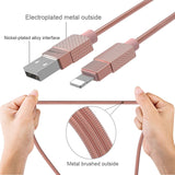 USB Cable Fast Charging Charger 1m lighting cable iPhone charger - Empire Accessories Inc