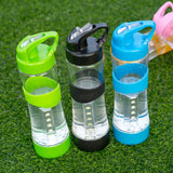 Outdoor Camp Portable Water Bottle 500mL BPA Free Leakproof Sports Lighting Bottle Multifunction - Empire Accessories Inc