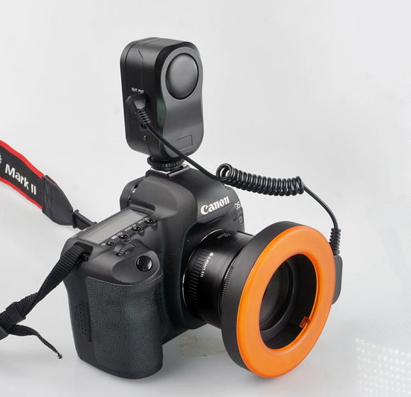 W48 Macro LED Ring Flash Light for DSLR Cameras - Empire Accessories Inc