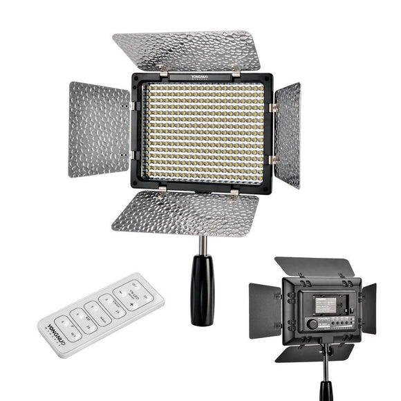 YN300 II YN-300 ll Pro LED Video Light Lighting with Remote Control for Canon Nikon Camera Camcorder - Empire Accessories Inc