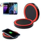 Qi Wireless Charging Pad for Samsung  quick-acting charger lightweight - Empire Accessories Inc