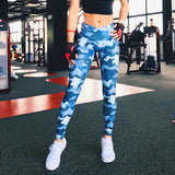 Sport Leggings Sports Suit Tights Stretch Trousers Exercise Training Gym Clothing - Empire Accessories Inc