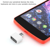 Mini OTG Cable USB OTG Adapter Micro USB to USB Converter for Tablet PC Android - Empire Accessories Inc
