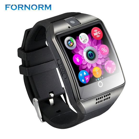 Q18 Passometer Smart Watch with Touch Screen Camera  card Bluetooth  for  HTC - Empire Accessories Inc