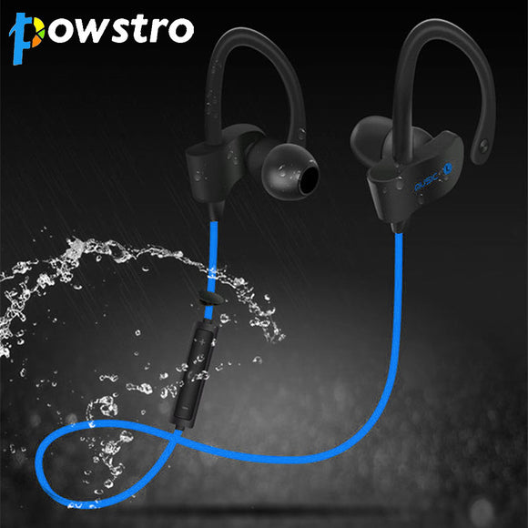 Sports Earphone Wireless Stereo Bluetooth V4.1 Sweatproof Noise Reduction - Empire Accessories Inc